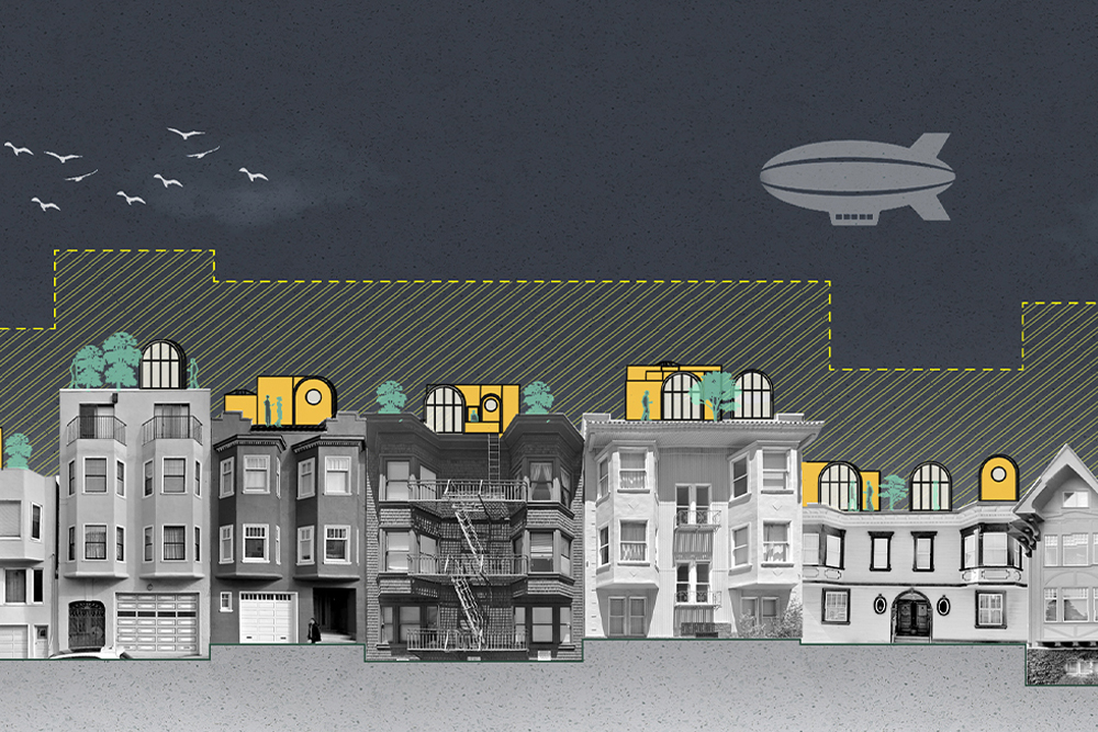 Upper Lands (Proposed creative solutions to San Francisco's housing crisis)